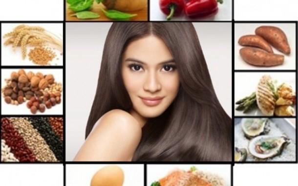احصلي على شعر صحي من غذائك