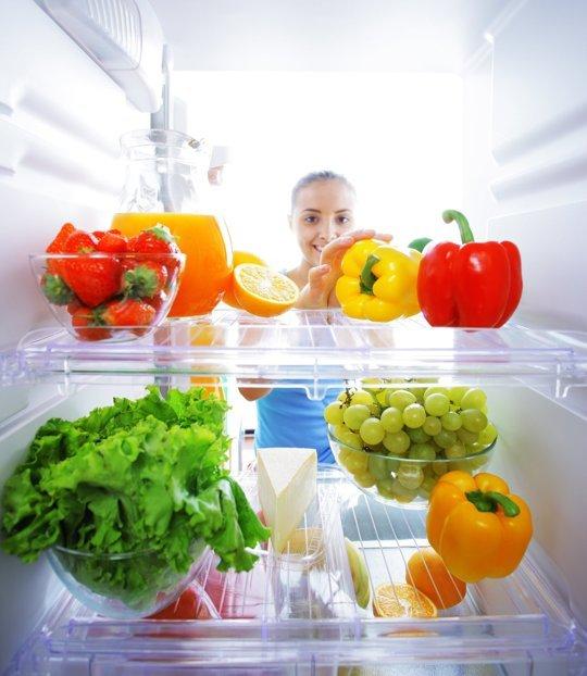 تخزين الخضار و الفواكه